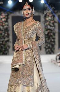 f338beaf6b Pakistani Bridal Dress – Off-White Shirt Jamawar Lehenga Embroidered Dupatta