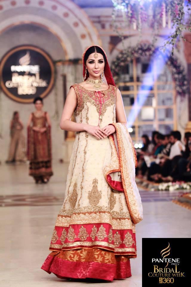 Latest Pakistani Fashion 2016 Bridal Dresses Formal Wear