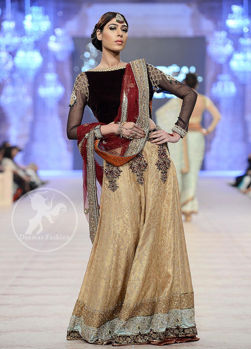 black-fawn-and-deep-red-bridal-wear-lehenga-choli