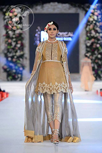 gold-and-silver-short-frock-with-gown