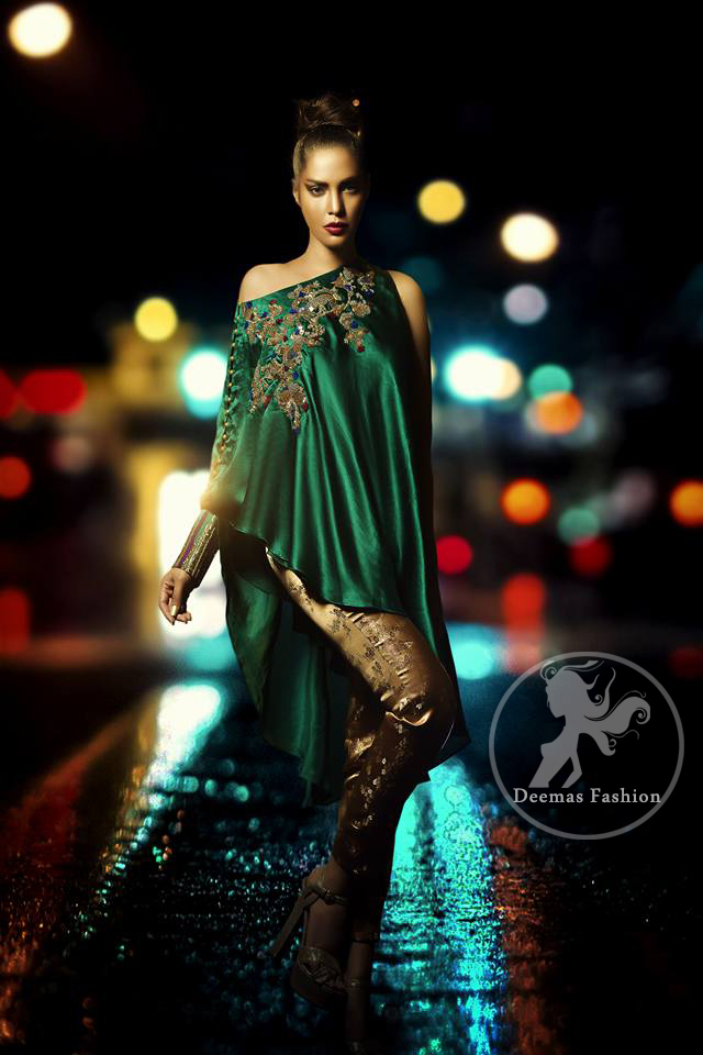 bottle-green-formal-cape-with-cigaret-pants1