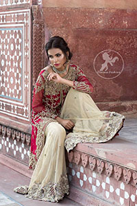 deep-red-front-open-short-shirt-beige-sharara-2