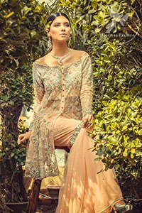 peach-front-open-shirt-gharara