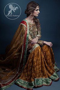 Multiple Color Traditional Mehndi Wear Gharara