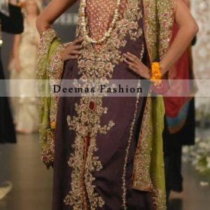 Latest Pakistani Bridal Wear Dress