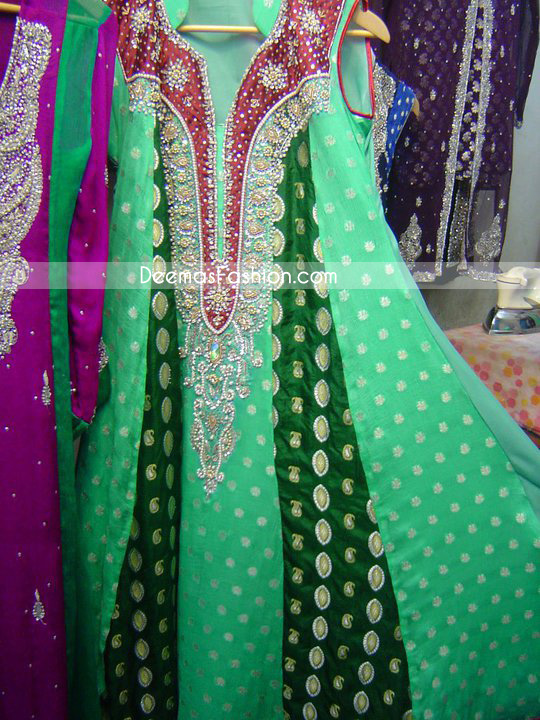 Designs of dresses in pakistani fashion