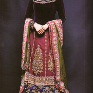Multiple Colour Maxi for Mehndi and Mayon Event