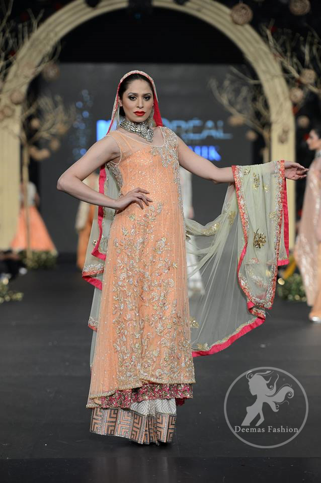 Peach-back-trail-frock-and-sharara
