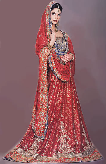 Traditional Red Lehnga